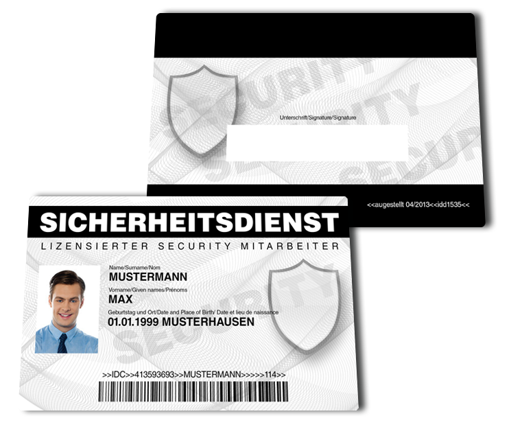 security ausweis