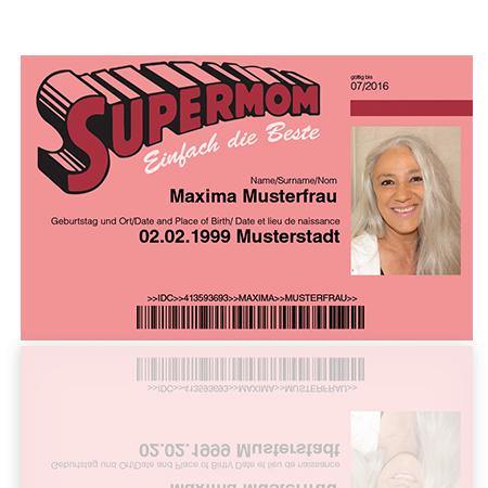 Supermom Ausweis