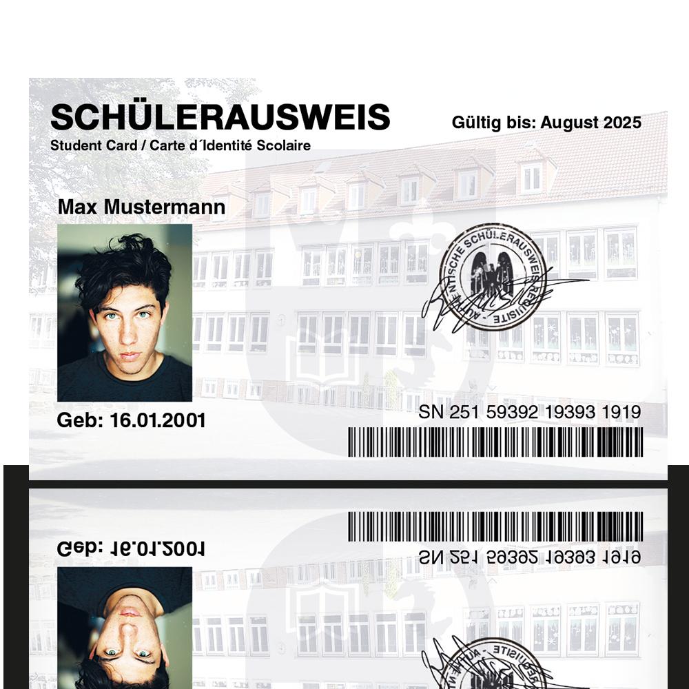 Geburtstag Einladungskarten 40 Stuck Personalausweis